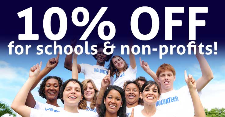 10% Off for Nonprofits